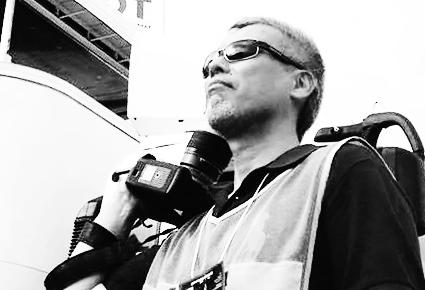 カメラマン写真